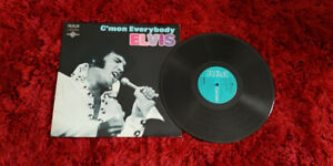 C'mon Everybody ELVIS PRESLEY VINYL 33 TOURS