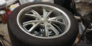 20 inch american racing rims with brand new tires