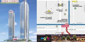 ICONA Condos VAUGHAN By VMC Subway Station VIP Sale High $200s