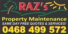 RAZ's PROPERTY MAINTENANCE Caboolture Caboolture Area Preview