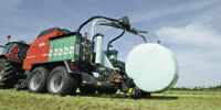 Wrapped round baling