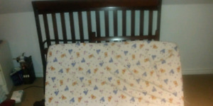 Crib and day bed for sale