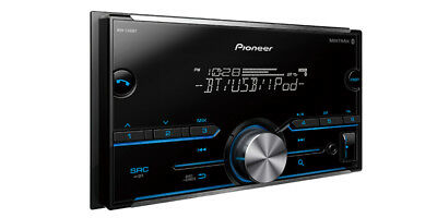 NEW Pioneer MVH-S400BT Double DIN MP3/WMA Digital Media Player Bluetooth MIXTRAX
