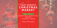 2nd Annual Last Minute Christmas Market (VENDORS WANTED)