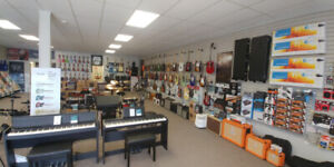 Guitars, Drums, Keyboards, and more!