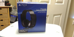 New PS3 7.1 Wireless Headset
