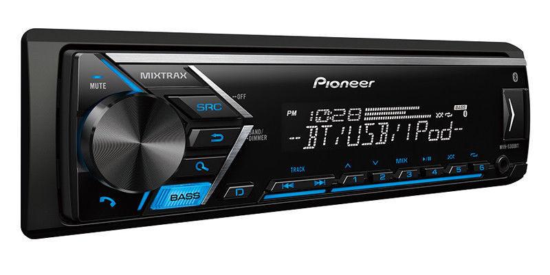 $67.96 - NEW Pioneer MVH-S300BT Single DIN MP3/WMA Digital Media Player Bluetooth MIXTRAX