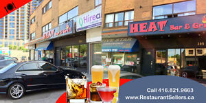 Busy Toronto Bar & Grill LLBO restaurant for sale - Only $49000