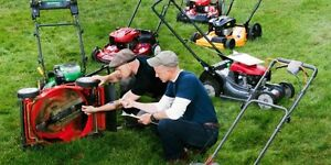 FREE LAWN MOWERS FOR RECYLING