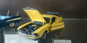 """1969 Ford Mustang """" Boss"""" Franklin Mint With Box"""