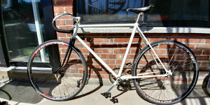 Velo fixed gear brakeless