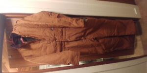 Large insulated coveralls