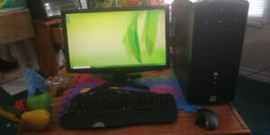 MDG Computer With 22inch Acer LED Monitor