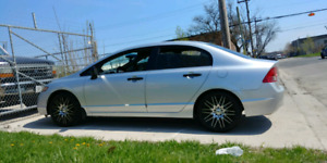 2007 honda civic 5 spd (READ AD)
