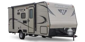 FOR RENT: New Lite Weight 2018 Travel Trailer with Bunk Beds