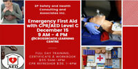 Emergency First-Aid with CPR/AED LevelC Training December 15