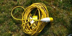 2 x 110 volt extension leads