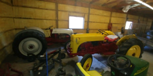 Ford 8n tractors completely restored