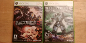 Supreme commander 1 and 2