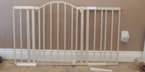 Wide baby gate $40