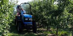 Narrow Orchard Tractor