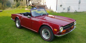 1972 TR6 for sale