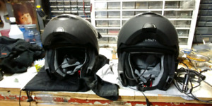 Casque full face modulaire stealth 100.00 chaque