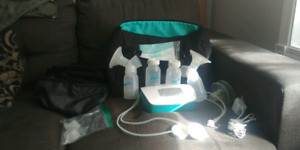 Double dlectric breast pump