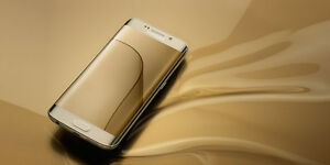 Samsung Galaxy S6 edge GOLD w/Cases - 32GB