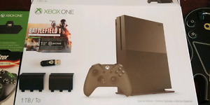 Xbox ONE S Military Green Special Edition