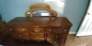 PRICE REDUCED - Selling - Wooden 9 Drawer Dresser