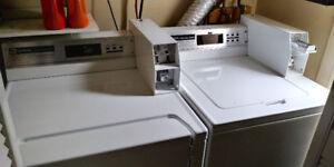 Commercial grade coin laundry pair - $200 for both