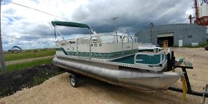 Tidy 18ft combo pontoon REDUCED!!