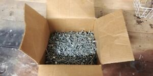 """Roofing Nails ,  1/2 of a 25lb box,   1.5""""   11 gauge"""
