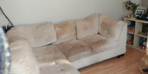 FREE 3 pc Sectional