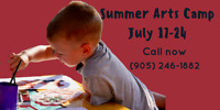 Last chance to register for next week's summer arts camp
