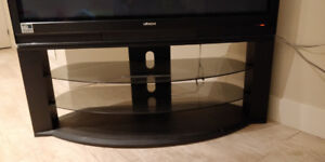 Hitach 50 Inch TV with premium TV stand