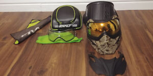 VForce Grill Special Edition Paintball Mask, Plus Many Extras