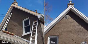 Eavestrough Installation, Soffits, Fascia, Siding, Windows London Ontario image 7