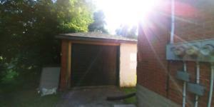Storage Garage for rent.