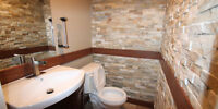 Stone/Veneer/Tile Install Exc rates Fast Reliable service