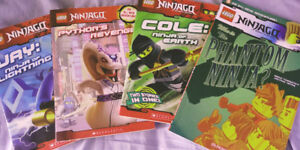 Lego NINJAGO books, DK Book and Sticker Book - all Brand New