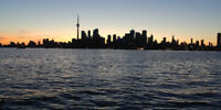 Kayak rental on Toronto Island plus option for 30 min lessons