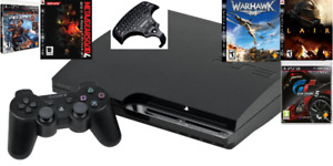 Playstation 3 | controller | 5 games | HDMI cable