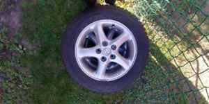 Mazda 3 Winter tires with rims 205/60/R16