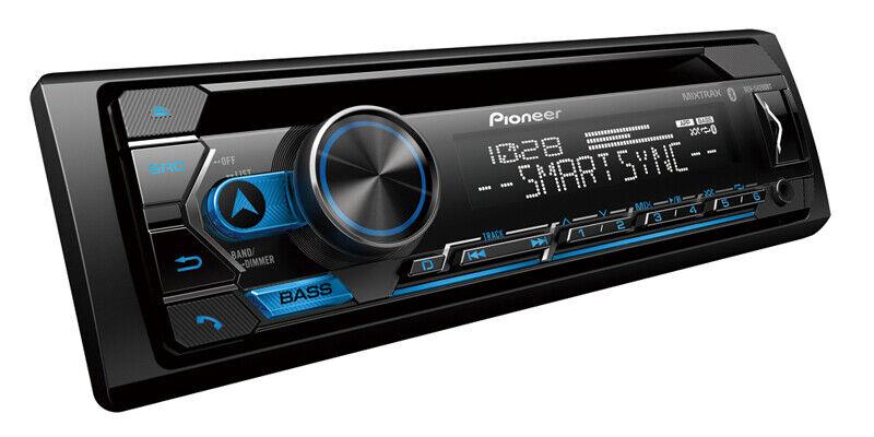 NEW Pioneer DEH-S4200BT Single 1 DIN CD MP3 Player Bluetooth