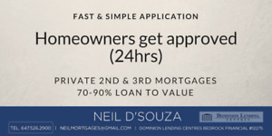 Private 2nd & 3rd Mortgages in Belleville and surrounding