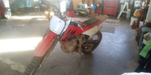 2006 crf230f and giant stp dirt jumper