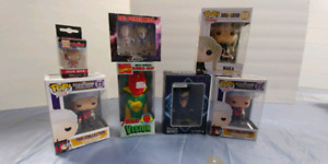 Marvel Anime Dr. Who Funko Pop and Titan Figures
