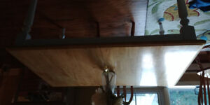 Kitchen solid wood table